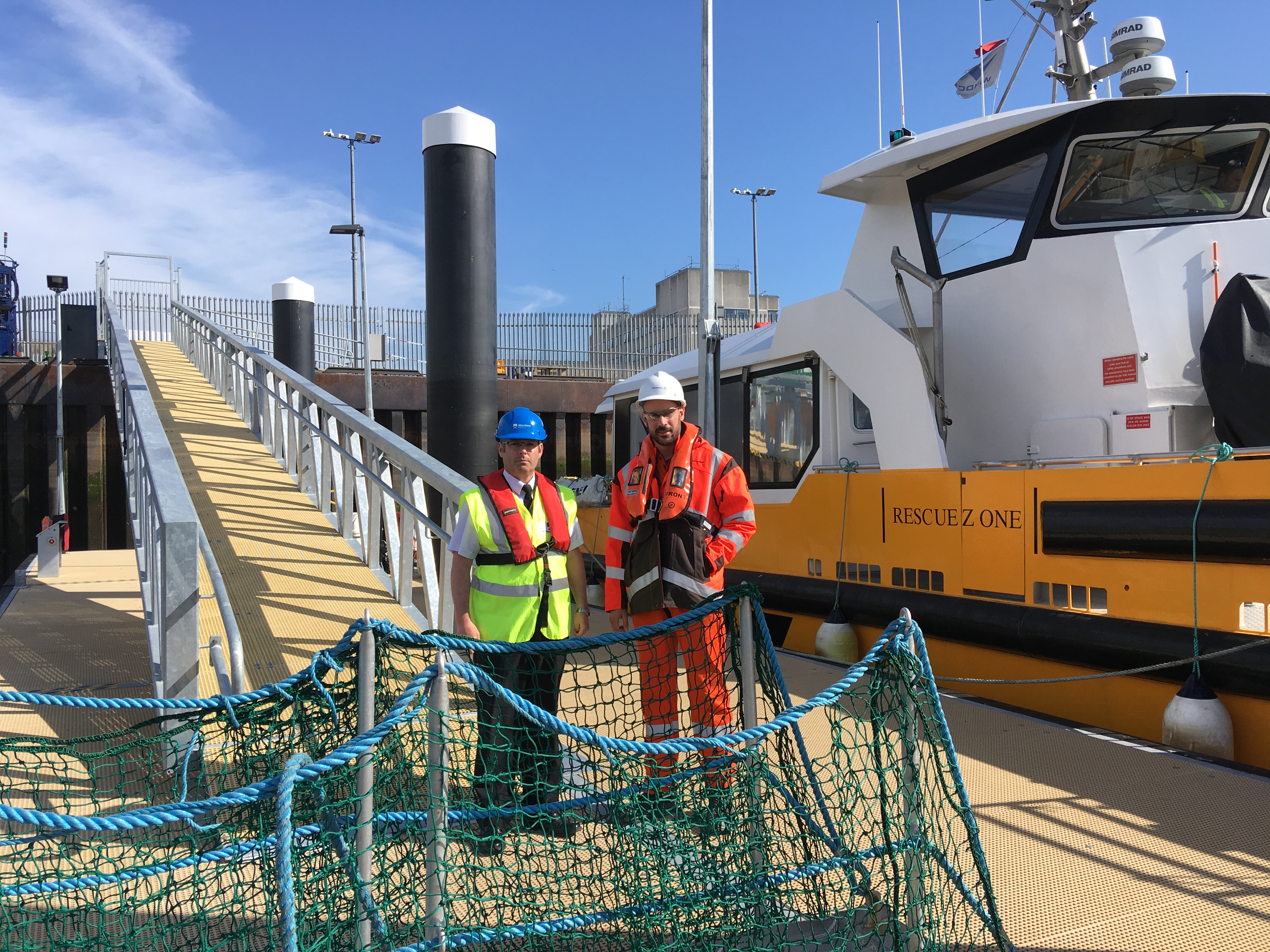 Vattenfall pontoon unveiled in Aberdeen Harbour